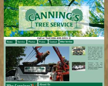Canning`s Tree Removal Service In South Jersey