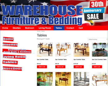 Ware House Furniture Bedding